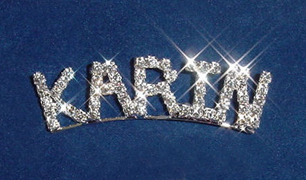 Arched Name Pin