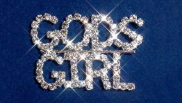 Gods Girl Pin
